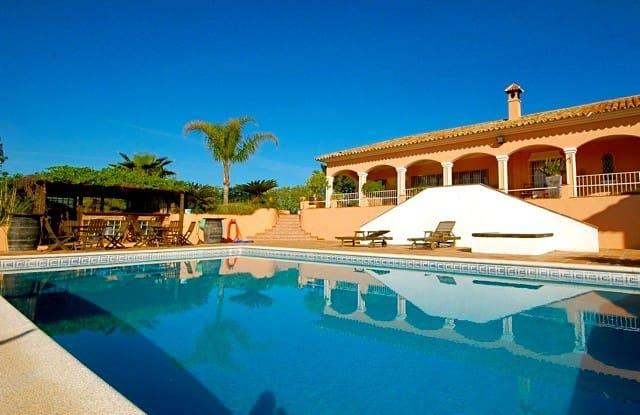 5 bedroom Villa for holiday rental in Alhaurin el Grande with pool garage - € 2,718 (Ref: 5724024)