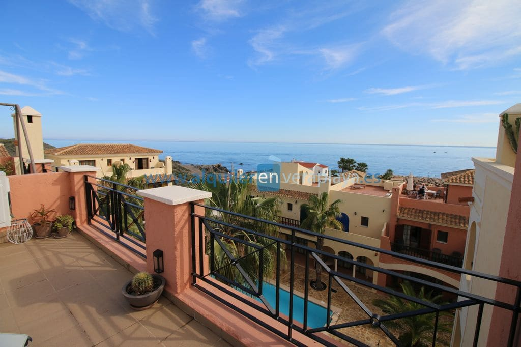 2 bedroom Flat for holiday rental in Villaricos with pool garage - € 500 (Ref: 5164689)