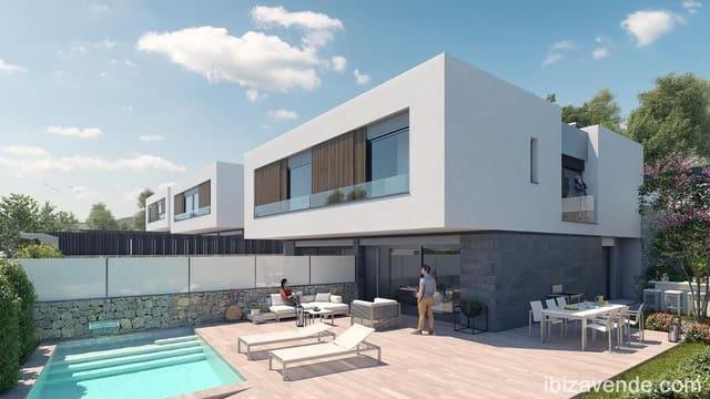 3 soveværelse Rækkehus til salg i Santa Eulalia / Santa Eularia med swimmingpool garage - € 1.075.000 (Ref: 4264038)
