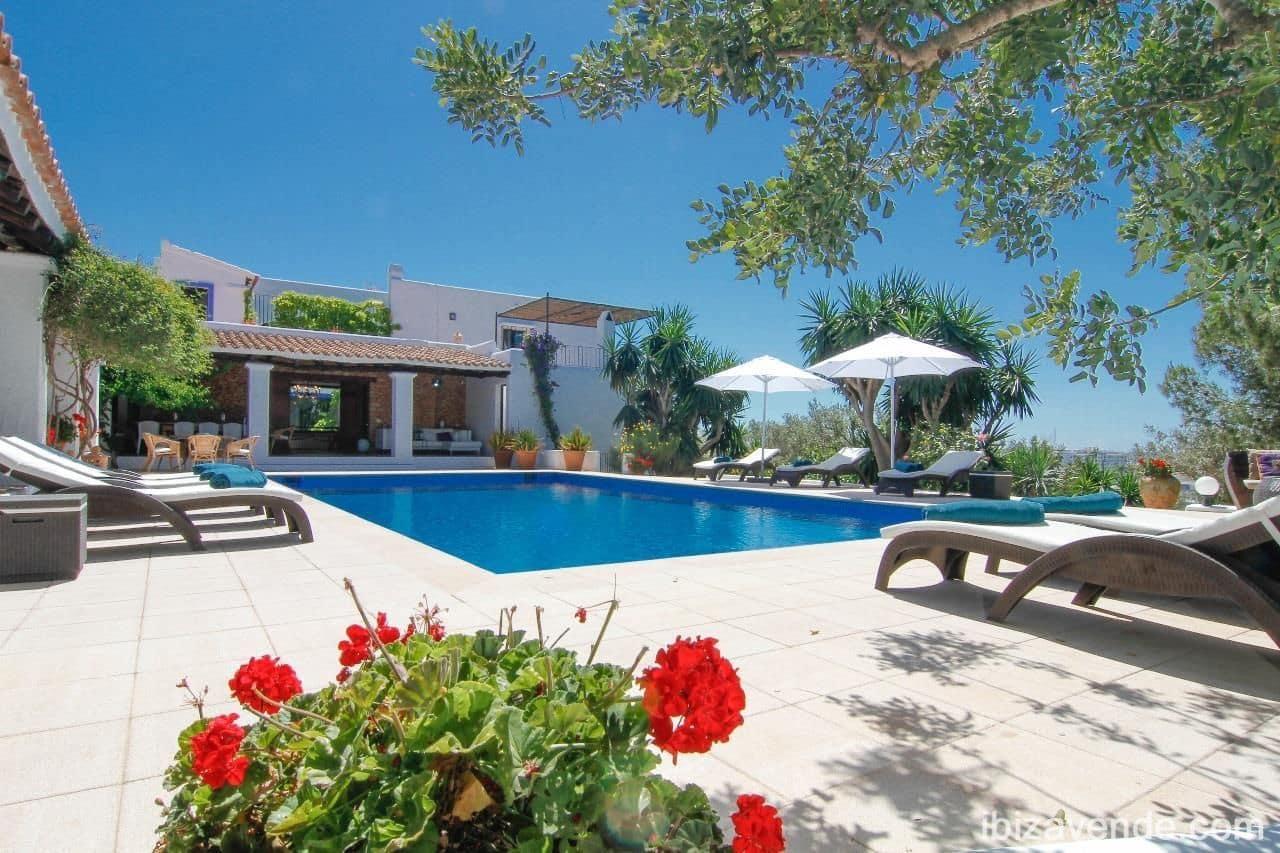 6 sovrum Villa att hyra i Ibiza stad med pool garage - 9 000 € (Ref: 4681322)