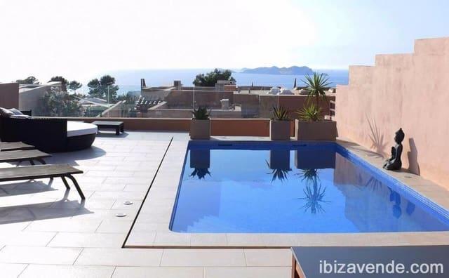 3 soverom Rekkehus til leie i San Jose / Sant Josep de Sa Talaia med svømmebasseng garasje - € 2 275 (Ref: 5126078)
