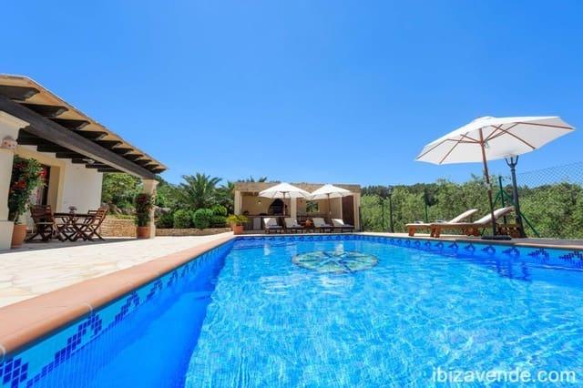 4 sypialnia Willa do wynajęcia w Sant Joan de Labritja z basenem garażem - 3 500 € (Ref: 5378407)