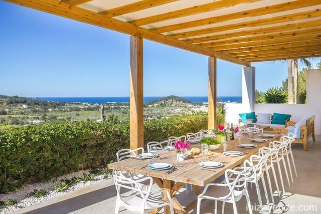 5 soverom Villa til leie i Sant Antoni de Portmany med svømmebasseng garasje - € 4 500 (Ref: 5417752)