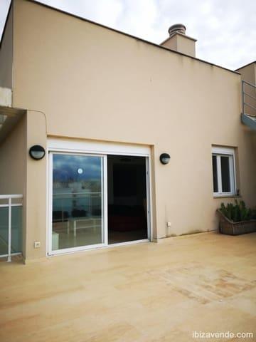 3 soverom Penthouse til leie i Ibiza by med svømmebasseng - € 1 800 (Ref: 5545574)