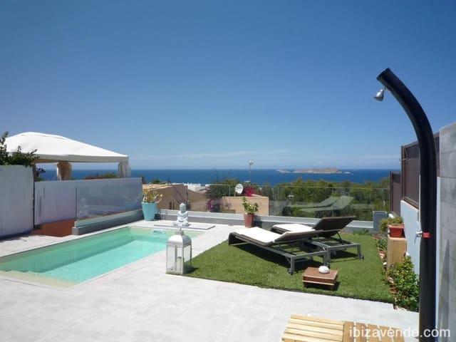 3 makuuhuone Rivitalo vuokrattavana paikassa San Jose / Sant Josep de Sa Talaia mukana uima-altaan - 5 500 € (Ref: 5965528)