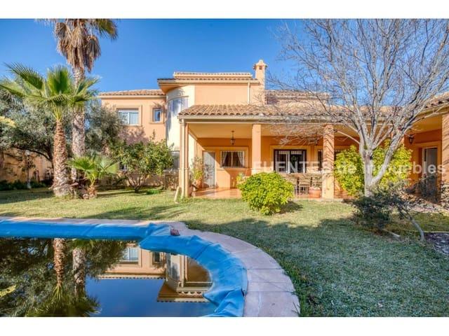 5 bedroom Villa for sale in Muchamiel / Mutxamel with pool garage - € 515,000 (Ref: 4995658)