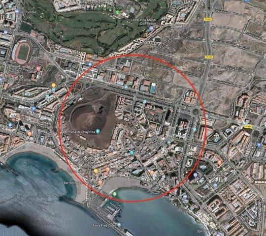 Ubebygd land til salgs i Los Cristianos - € 737 500 (Ref: 5733705)