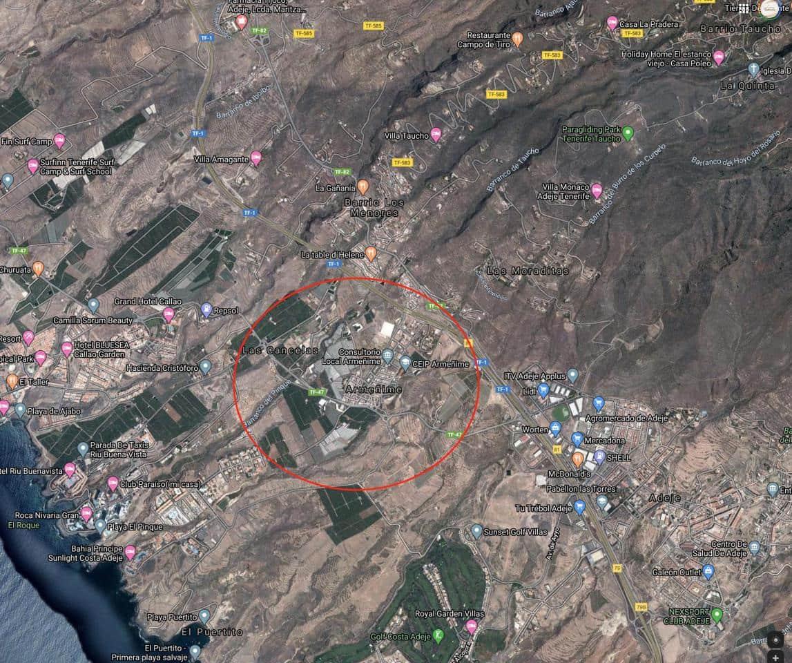 Ubebygd land til salgs i Armenime - € 190 000 (Ref: 5733748)
