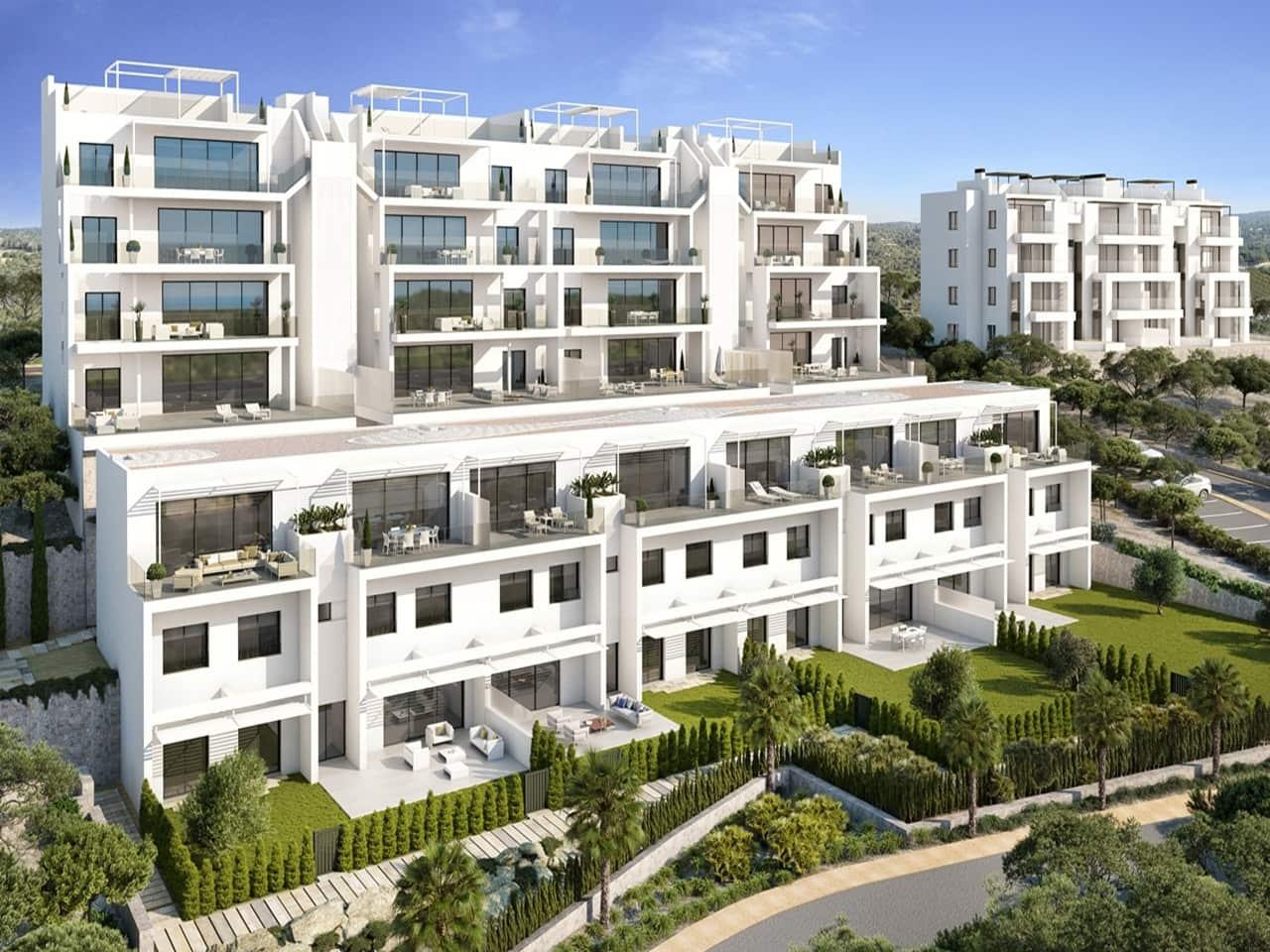 Ático de 3 habitaciones en Las Colinas Golf en venta con piscina - 356.000 € (Ref: 3747684)