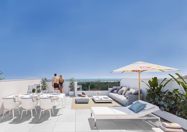 2 soveværelse Penthouse til salg i Los Dolses med swimmingpool - € 210.000 (Ref: 4048845)