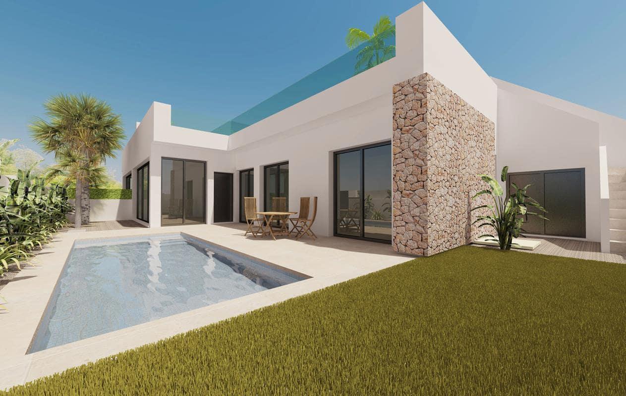 Chalet de 2 habitaciones en Pilar de la Horadada en venta con piscina garaje - 209.900 € (Ref: 4457775)