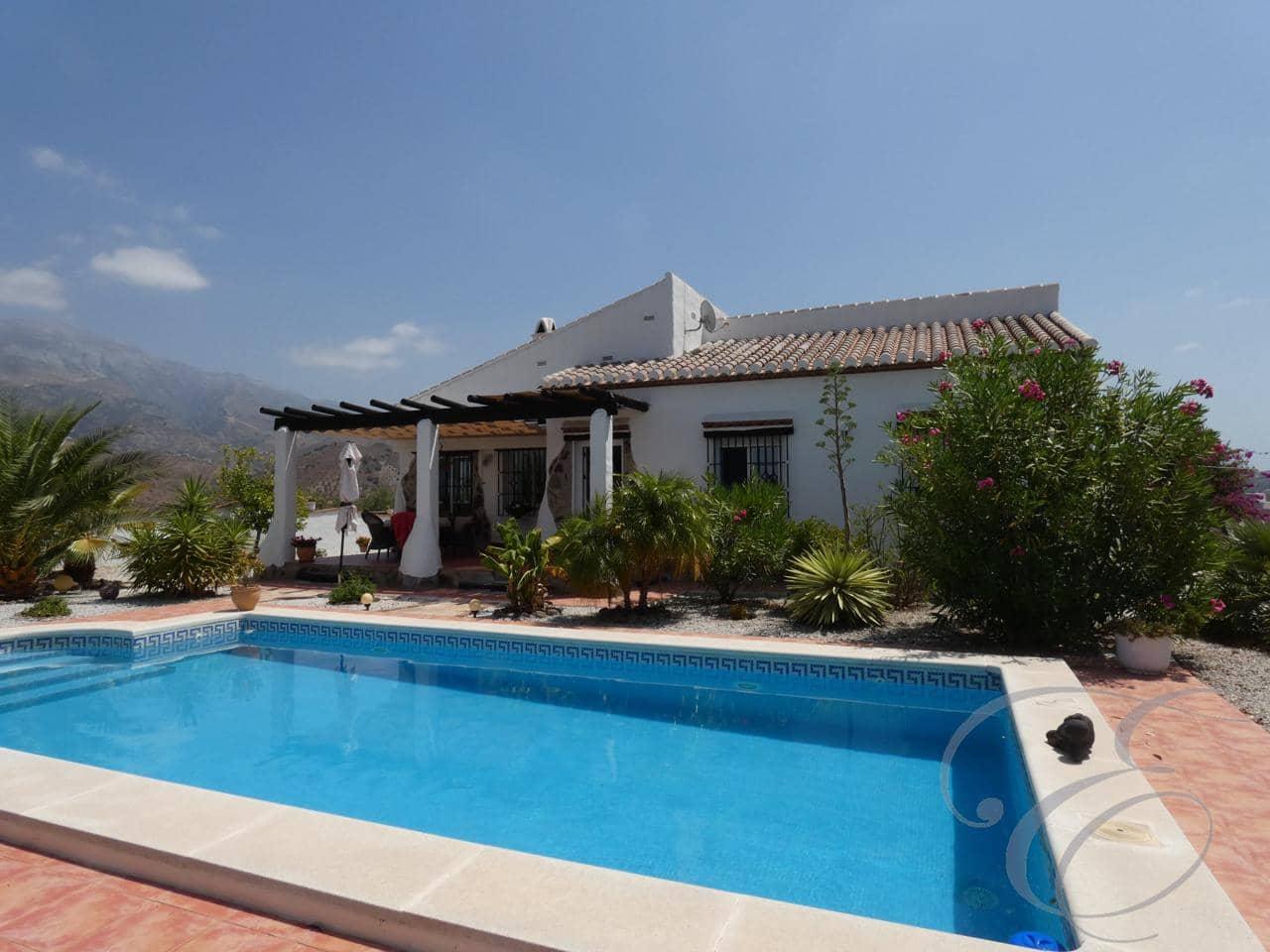 3 bedroom Villa for sale in Canillas de Aceituno with pool garage - € 265,000 (Ref: 4732101)