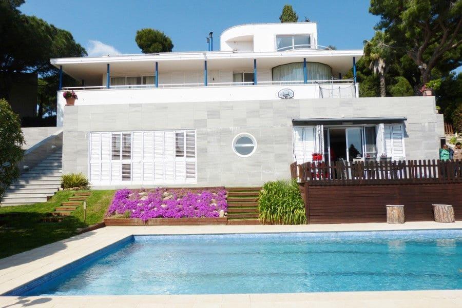 8 bedroom Villa for holiday rental in Sant Antoni de Calonge with pool garage - € 4,500 (Ref: 4550938)
