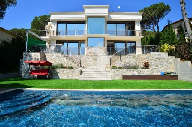 4 sypialnia Willa na sprzedaż w Platja d'Aro z basenem garażem - 1 350 000 € (Ref: 3574540)