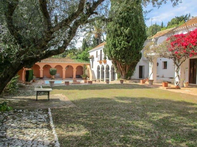 6 sypialnia Finka/Dom wiejski na sprzedaż w Las Lagunas de Mijas z basenem garażem - 1 750 000 € (Ref: 5344786)