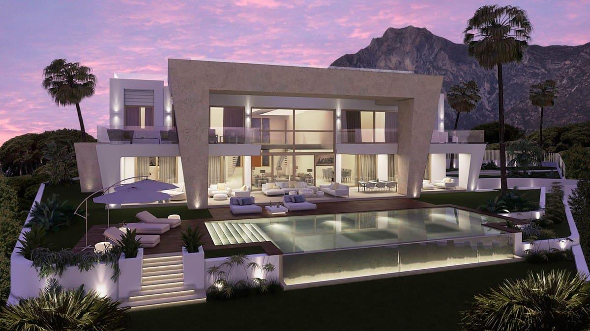 6 bedroom Villa for sale in Marbella with pool garage - € 9,750,000 (Ref: 3891461)