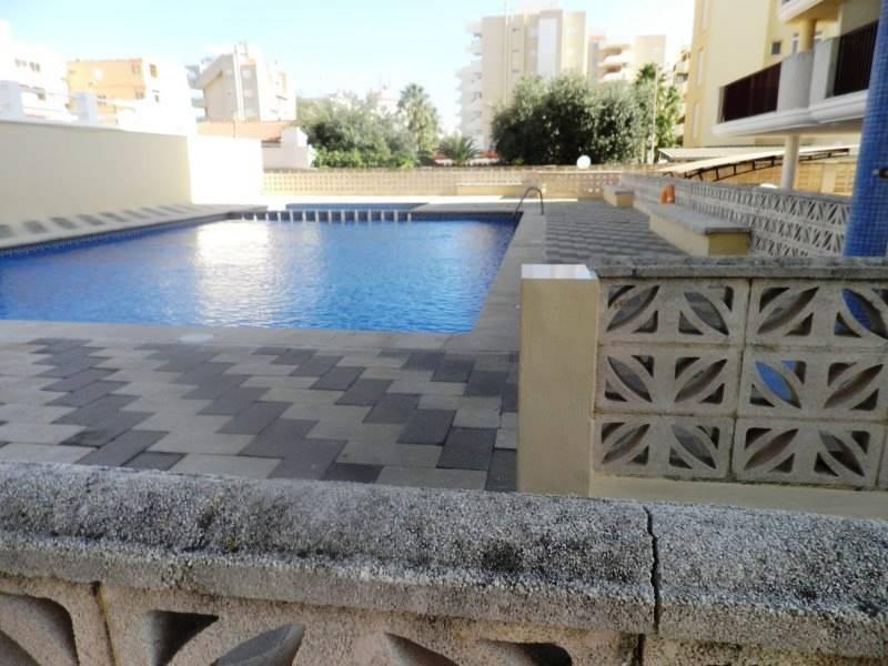 1 slaapkamer Strandappartement te huur in Xeraco met zwembad - € 350 (Ref: 2857034)