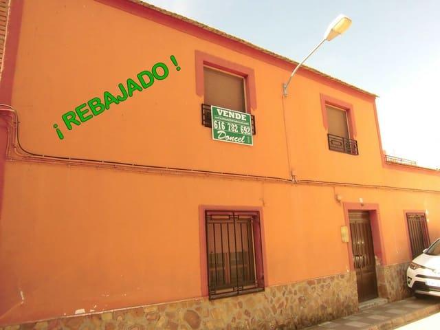 3 quarto Casa em Banda para venda em Corral de Calatrava com garagem - 32 000 € (Ref: 4522786)