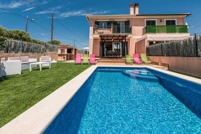 3 Zimmer Doppelhaus zu verkaufen in Cala Pi mit Pool - 525.000 € (Ref: 5343149)