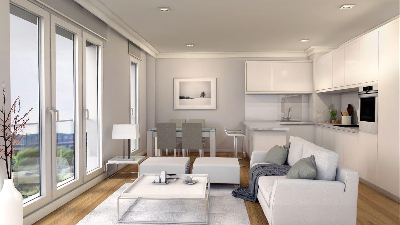 2 sovrum Lägenhet till salu i Santiago de Compostela med garage - 190 000 € (Ref: 5067419)