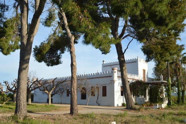 6 chambre Finca/Maison de Campagne à vendre à Vinaros avec piscine garage - 1 500 000 € (Ref: 5229048)