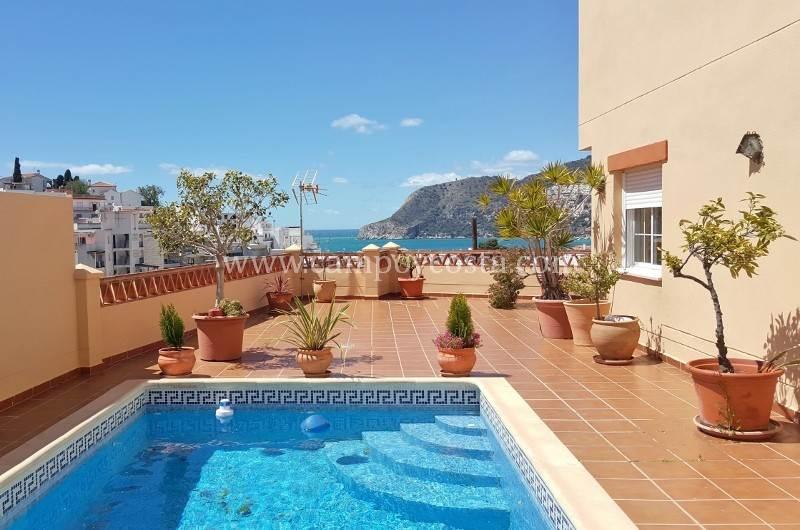 2 sovrum Villa att hyra i La Herradura med pool - 1 200 € (Ref: 3995573)