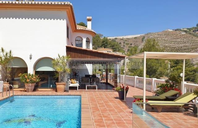 4 sovrum Villa att hyra i Almunecar med pool garage - 2 200 € (Ref: 4333399)