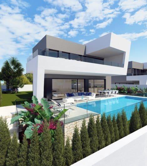 Chalet de 3 habitaciones en Polop en venta con piscina garaje - 450.000 € (Ref: 5093100)