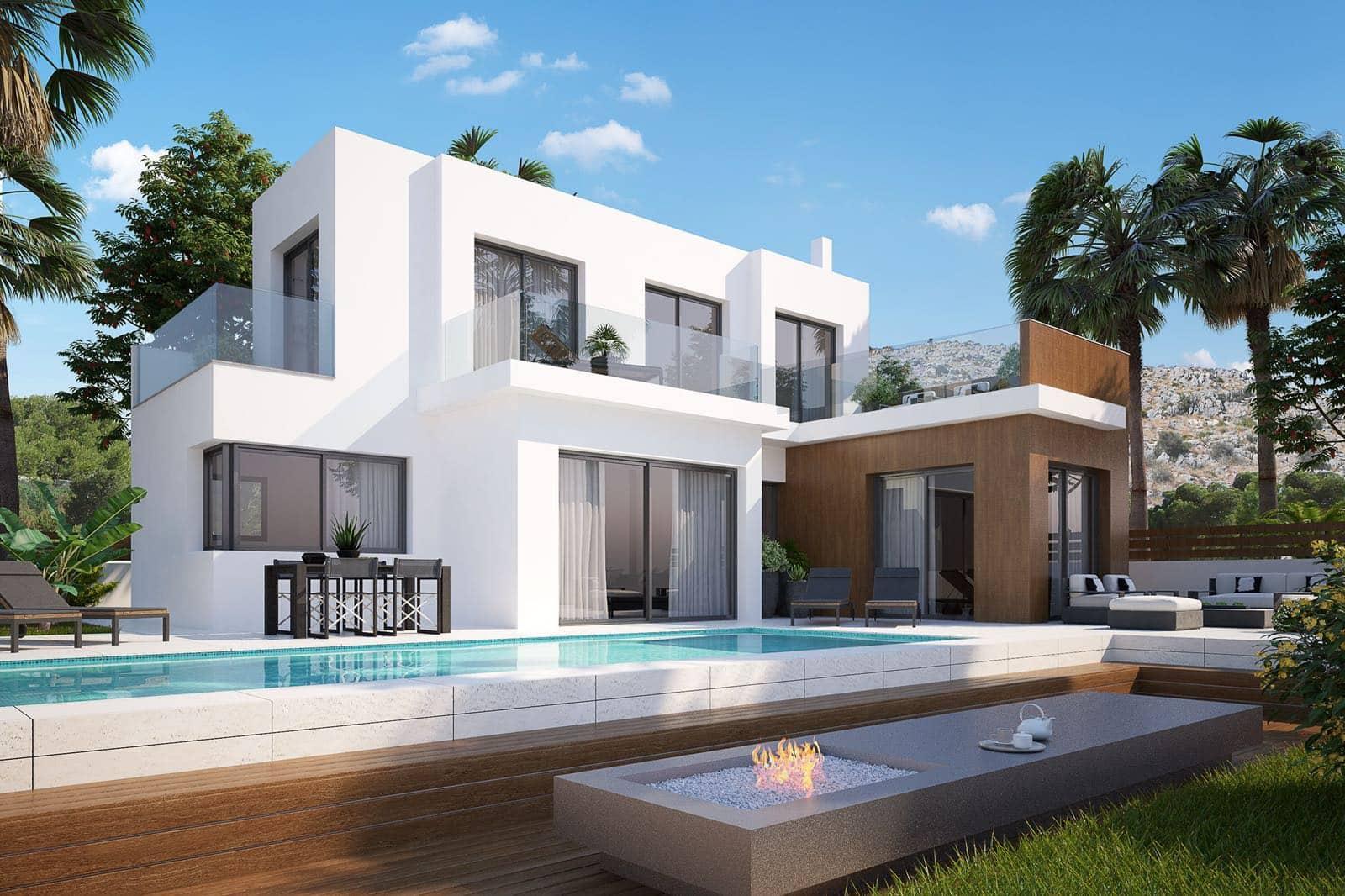 Chalet de 3 habitaciones en Polop en venta con piscina garaje - 361.100 € (Ref: 5093105)