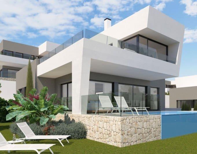 Chalet de 3 habitaciones en Polop en venta con piscina garaje - 430.000 € (Ref: 5093107)