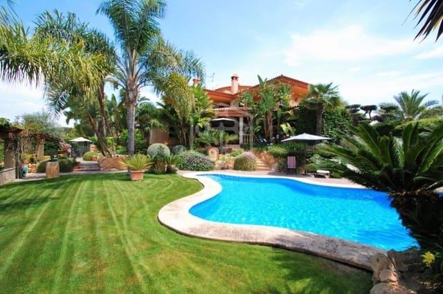 4 sypialnia Willa na kwatery wakacyjne w Altafulla z basenem garażem - 5 000 € (Ref: 5171184)