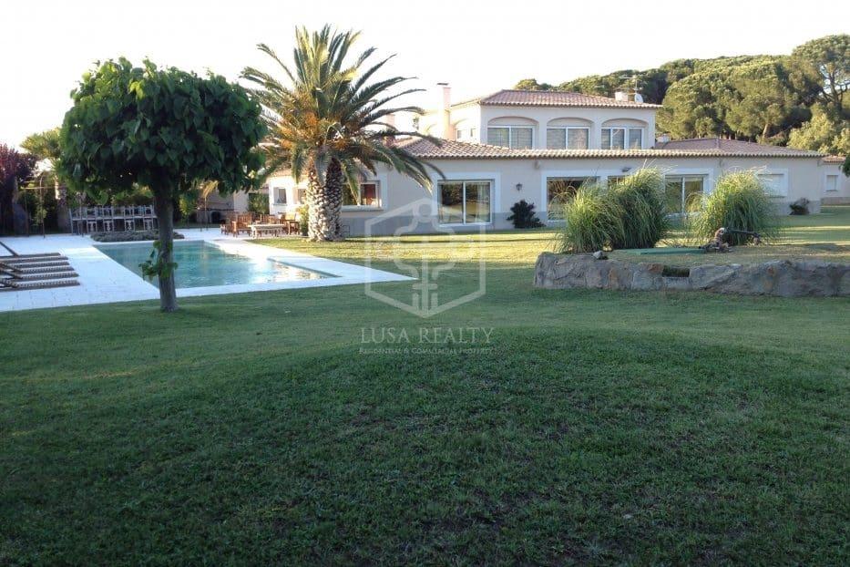 6 soverom Villa til leie i Pals med svømmebasseng garasje - € 4 600 (Ref: 5673557)