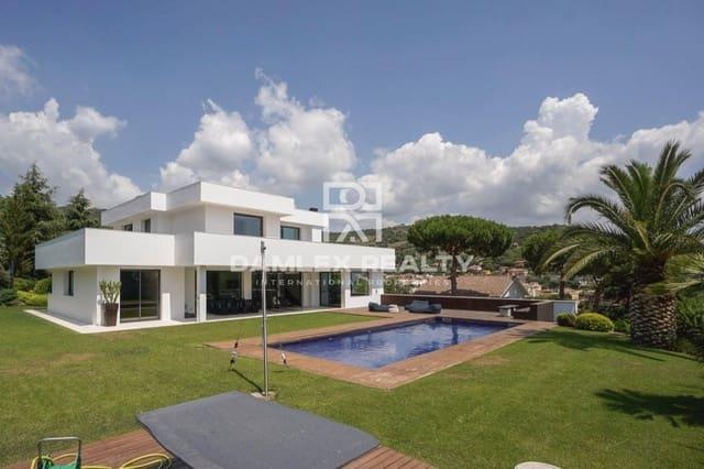 6 sovrum Villa till salu i Cabrera de Mar med pool garage - 2 300 000 € (Ref: 4368071)