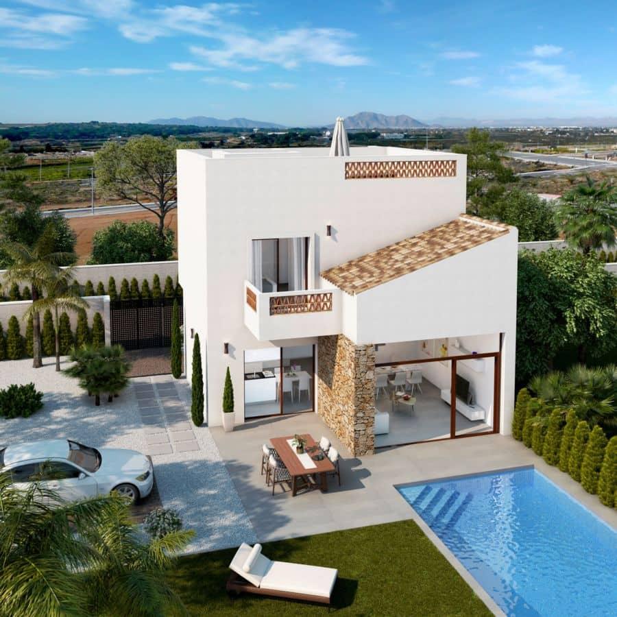 Chalet de 3 habitaciones en Benijófar en venta con piscina garaje - 242.900 € (Ref: 4347572)