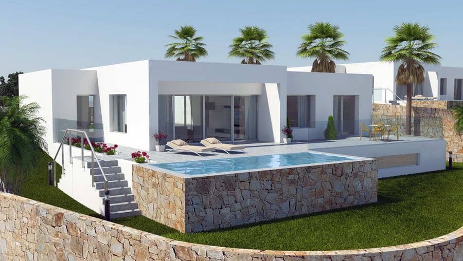3 bedroom Villa for sale in San Miguel de Salinas with pool garage - € 590,000 (Ref: 5022533)