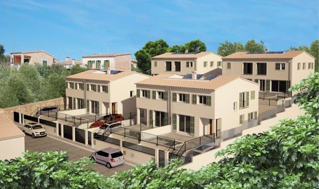 4 chambre Villa/Maison Semi-Mitoyenne à vendre à Sa Cabaneta / La Cabaneta avec piscine - 449 000 € (Ref: 4643627)