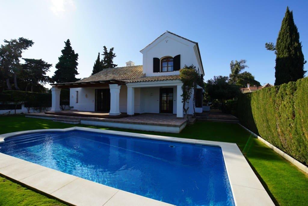 5 Zimmer Villa zu verkaufen in San Pedro de Alcantara mit Pool - 2.195.000 € (Ref: 4759919)