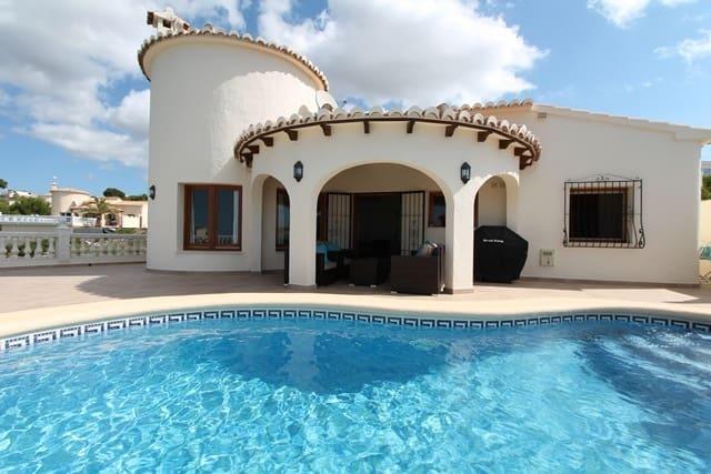 3 Zimmer Ferienvilla in Benitachell / Benitatxell mit Pool - 1.350 € (Ref: 3224138)