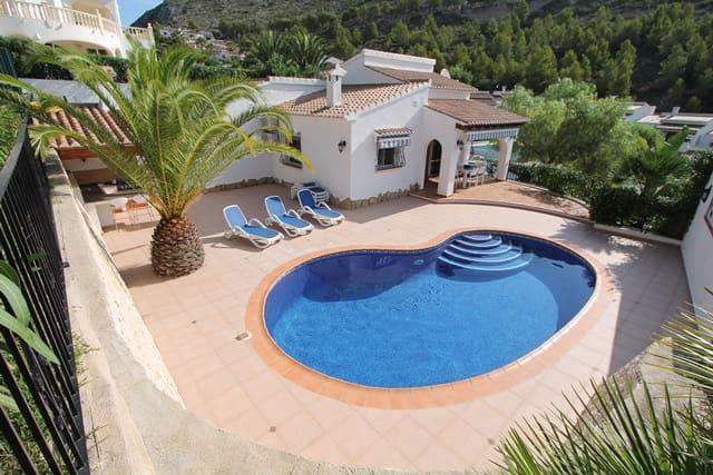 3 Zimmer Ferienvilla in Benitachell / Benitatxell mit Pool - 700 € (Ref: 3228499)