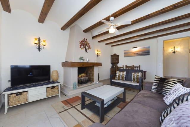 2 soveværelse Bungalow til leje i Benitachell / Benitatxell - € 550 (Ref: 4631420)