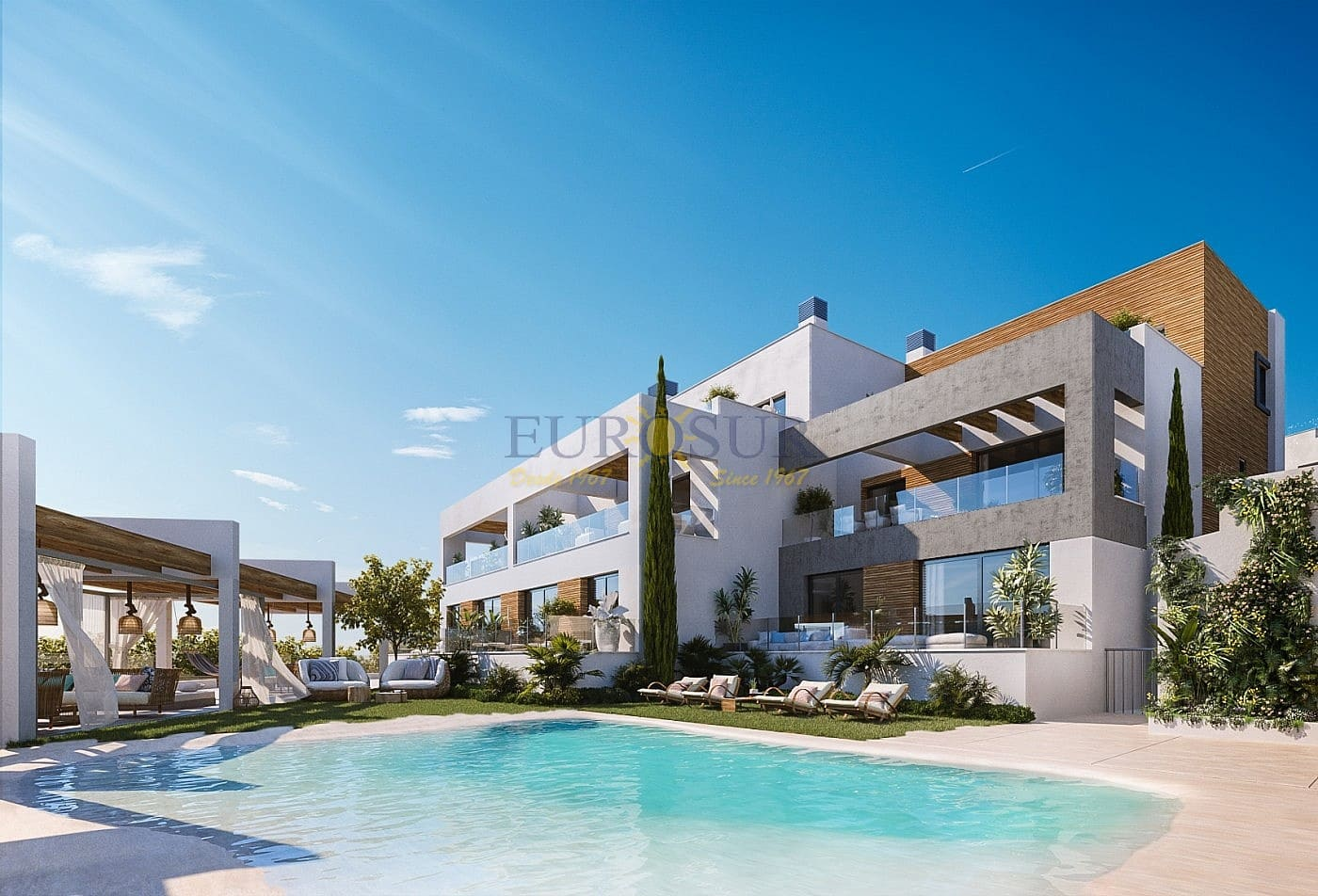 1 bedroom Apartment for sale in Marbella with pool - € 190,000 (Ref: 5095188)