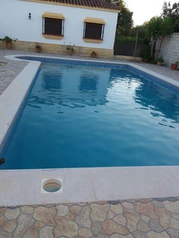 Chalet de 3 habitaciones en Benalup en alquiler vacacional con piscina - 840 € (Ref: 4515207)