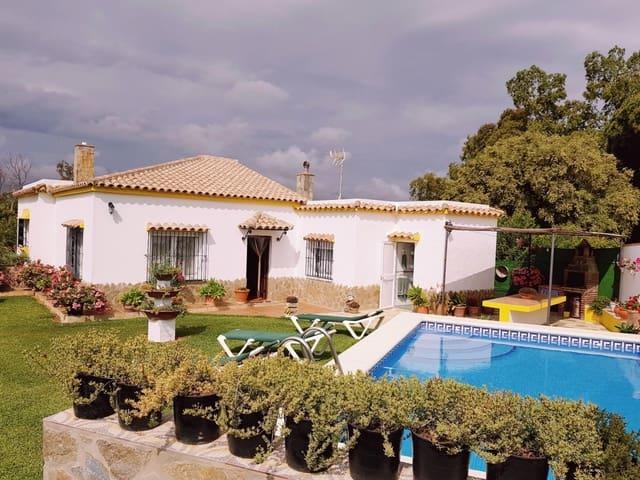 3 sypialnia Finka/Dom wiejski na sprzedaż w Vejer de la Frontera z basenem garażem - 600 000 € (Ref: 4515267)