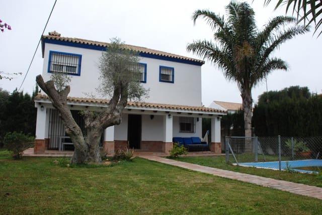 Chalet de 3 habitaciones en Zahora en venta con piscina - 400.000 € (Ref: 5128019)