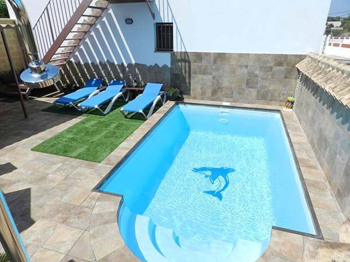 Chalet de 2 habitaciones en Vejer de la Frontera en alquiler vacacional con piscina - 1.330 € (Ref: 5304539)
