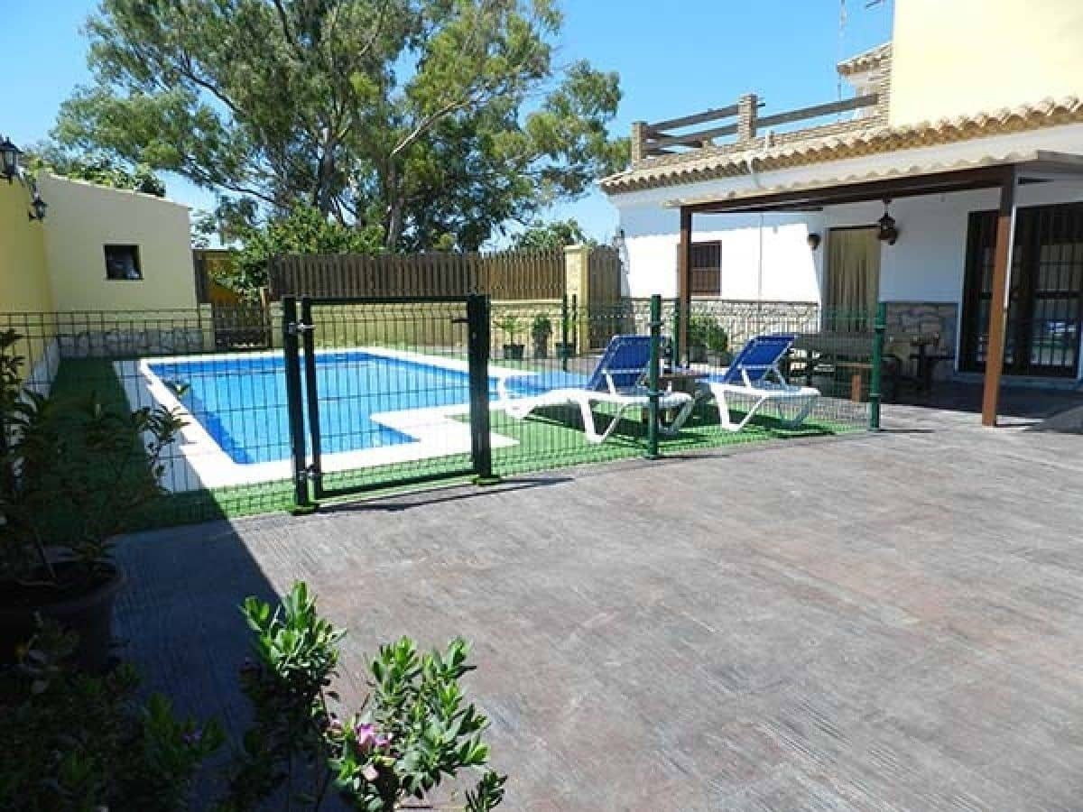 Chalet de 2 habitaciones en Vejer de la Frontera en alquiler vacacional con piscina - 1.400 € (Ref: 5304540)