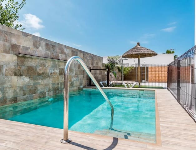 Chalet de 3 habitaciones en Conil de la Frontera en alquiler vacacional con piscina - 630 € (Ref: 5523479)