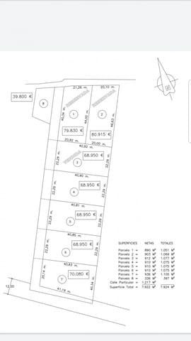 Byggegrund til salg i La Barrosa - € 76.000 (Ref: 6153813)