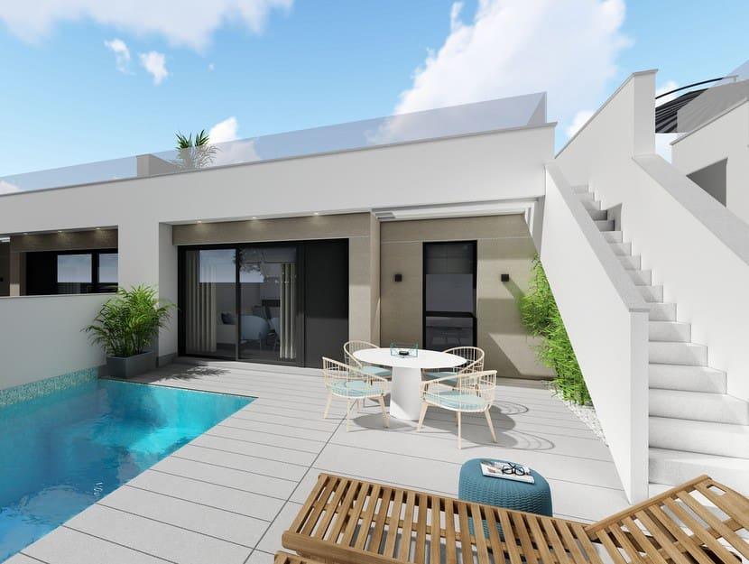 Chalet de 3 habitaciones en Pilar de la Horadada en venta con piscina - 236.900 € (Ref: 3921901)