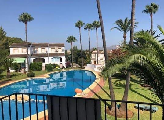 2 sovrum Lägenhet att hyra i Gata de Gorgos med pool - 500 € (Ref: 5325859)